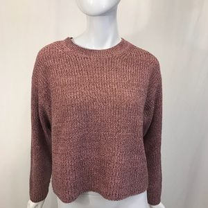 rag & bone Sweater Sparkle Pink Top Medium